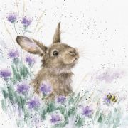 Wrendale The Meadow Rabbit Greeting Card